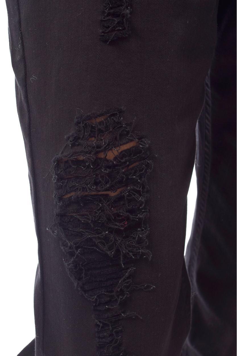 10Days Black Oversized Denim Jogger 20.062.9103/8