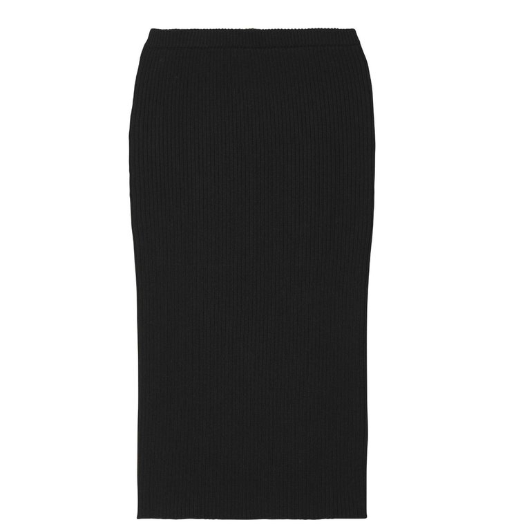 10Days 10Days Black Skirt Rib 20.684.9103/8
