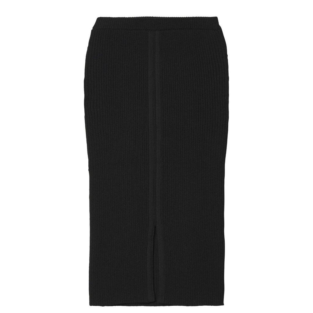 10Days Black Skirt Rib 20.684.9103/8