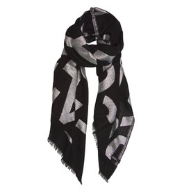 10Days 10Days Scarf Lurex Big Logo 20.905.9103/8