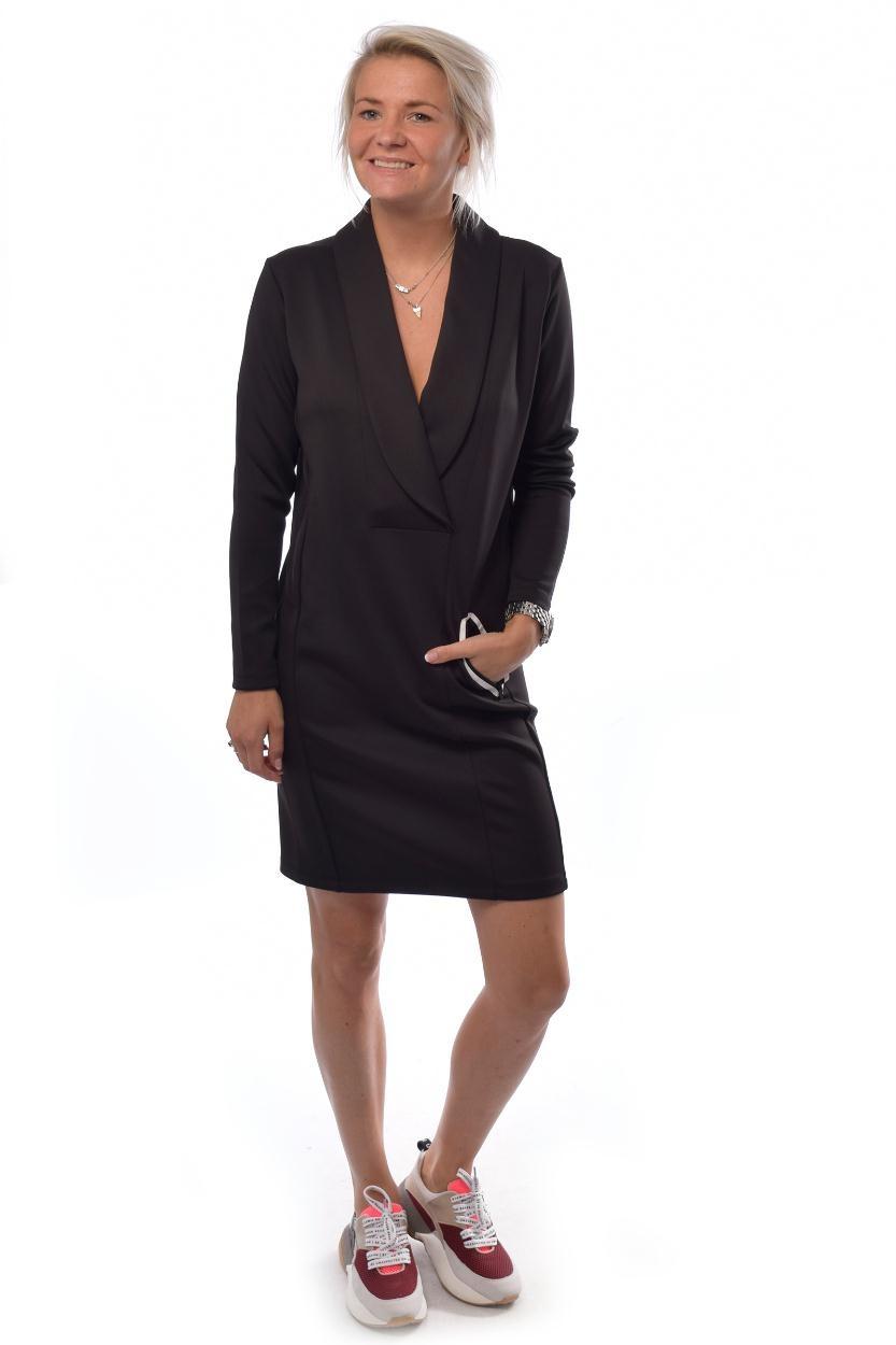 10Days Black Smoking Dress 20.335.9103/8