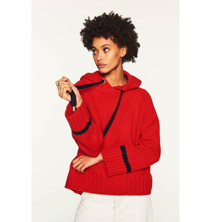 Ba&sh Ba&sh Red Jumper Oceane