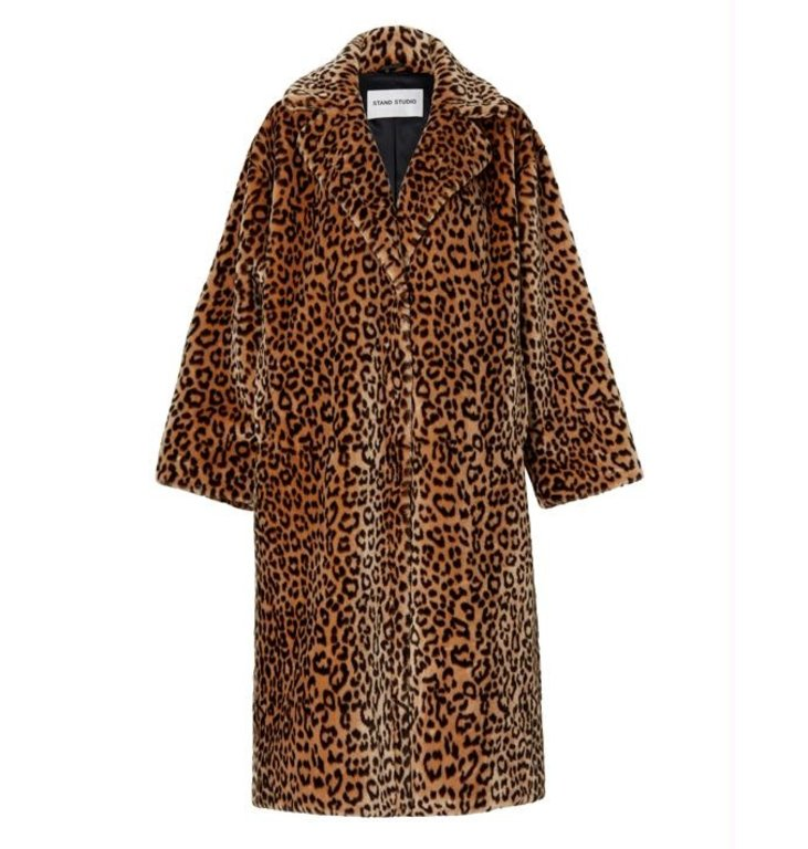 Stand Stand Leopard Coat Maria