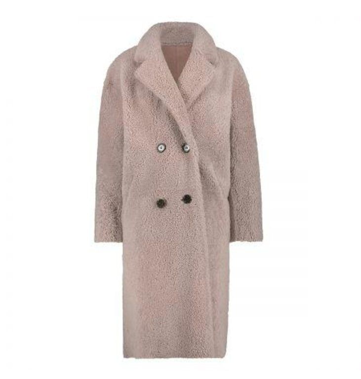 Arma Arma Pink Lammy Coat Evelyn Reversible