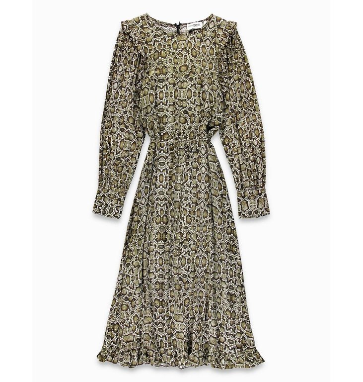 Essentiel Antwerp Essentiel Antwerp Snake Print Dress Teudes