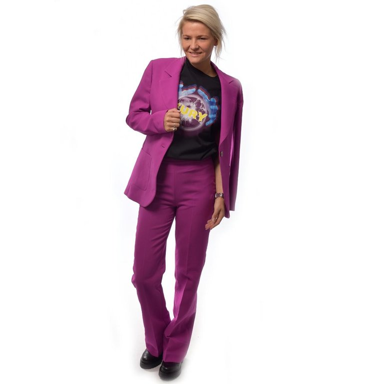 Essentiel Antwerp Essentiel Antwerp Purple Pants Trimp