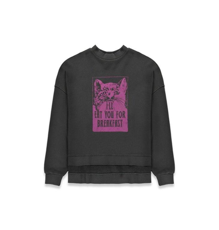Essentiel Antwerp Essentiel Antwerp Anthraciet Sweater Tack