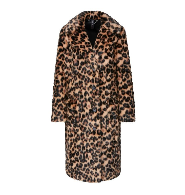 Marc Cain Marc Cain Leopard Coat MC1108