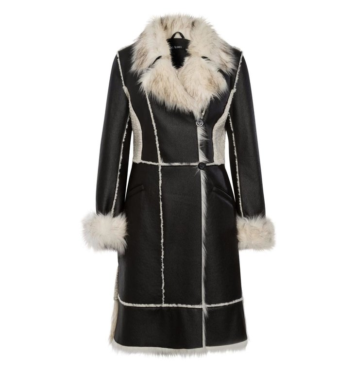 Marc Aurel Marc Aurel Black Coat 5428