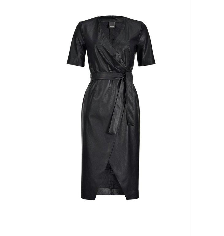 Pinko Pinko Black Dress Punire