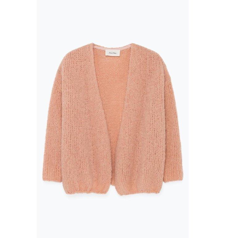 American Vintage American Vintage Soft Pink Cardigan Boo272B