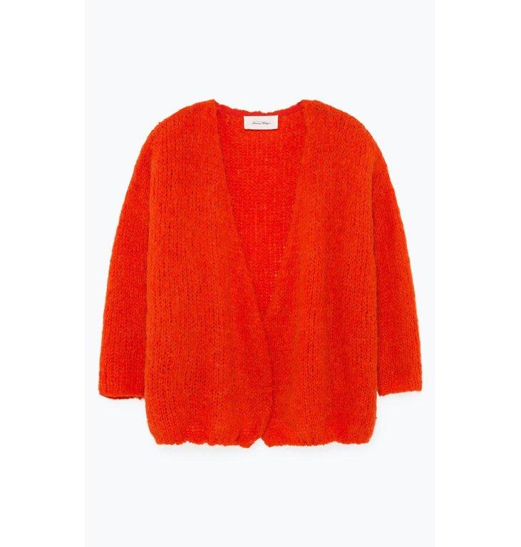 American Vintage American Vintage Orange Cardigan Boo272B