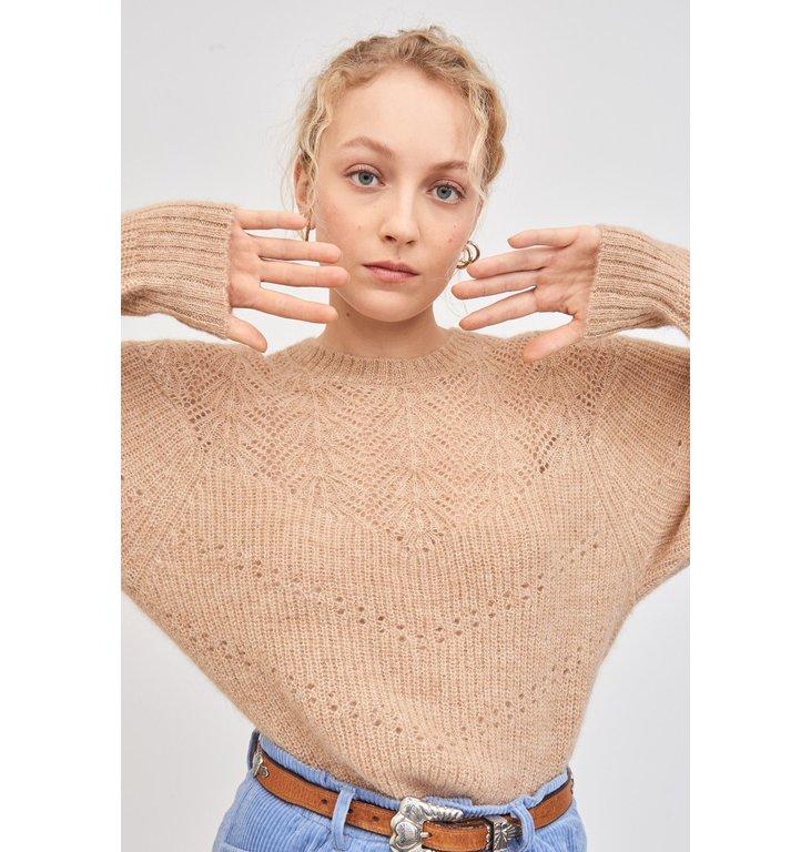 Antik Batik Antik Batik Camel Knit Woolah