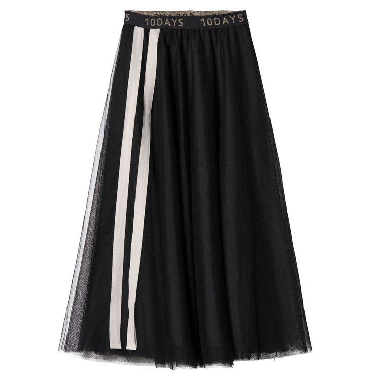 10Days 10Days Black Tulle Skirt 20.107.9103/9