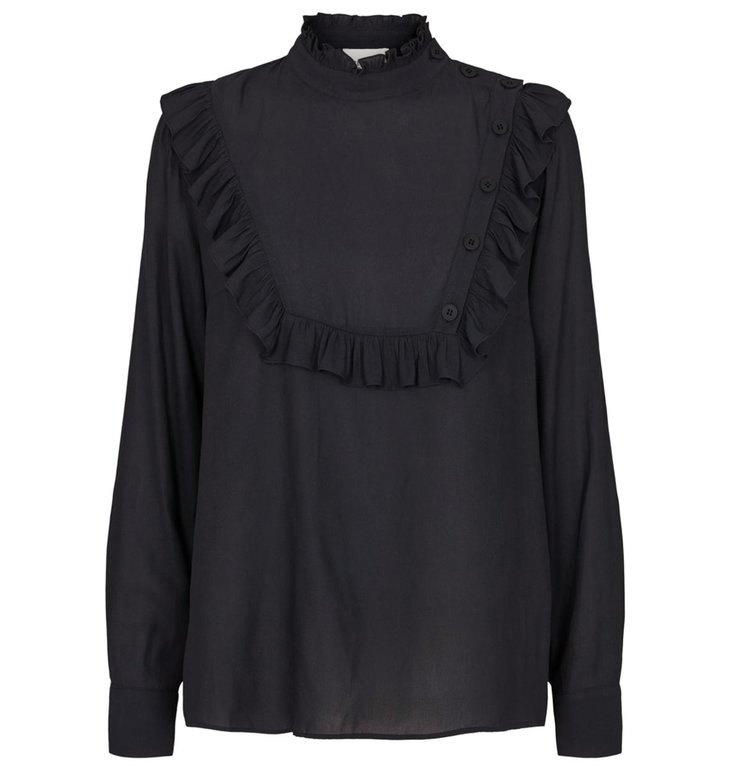 Second Female Second Female Black Blouse Florenza