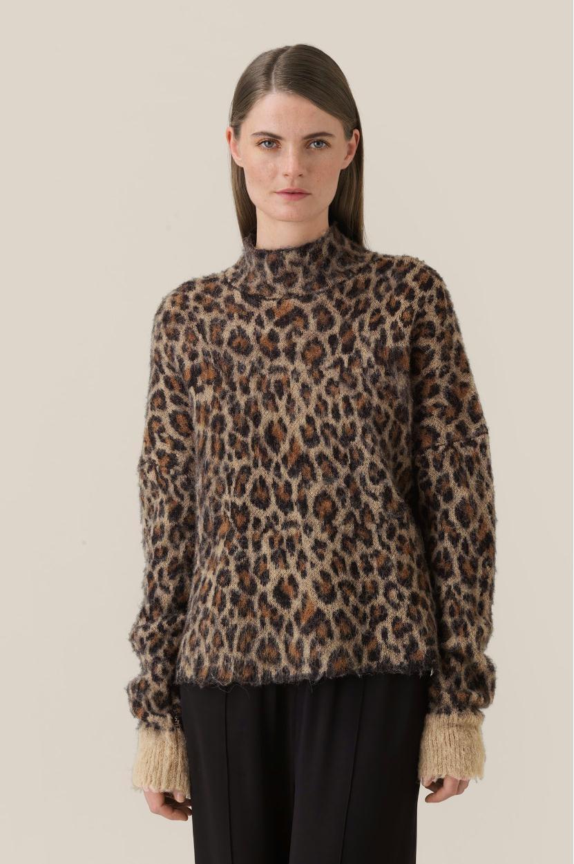 Second Female Leopard Knit Rohna