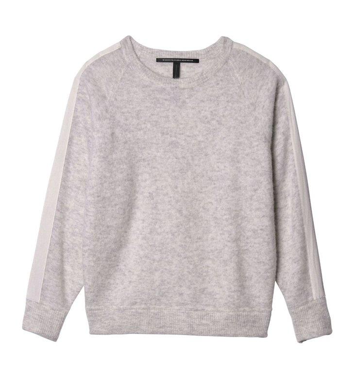 10Days 10Days Soft White Melee Sweater Merino Wool 20.601.9103/9