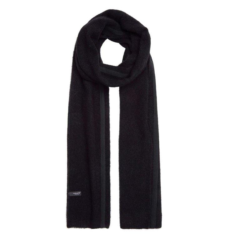 10Days 10Days Black Scarf Merino Wool 20.690.9103/9
