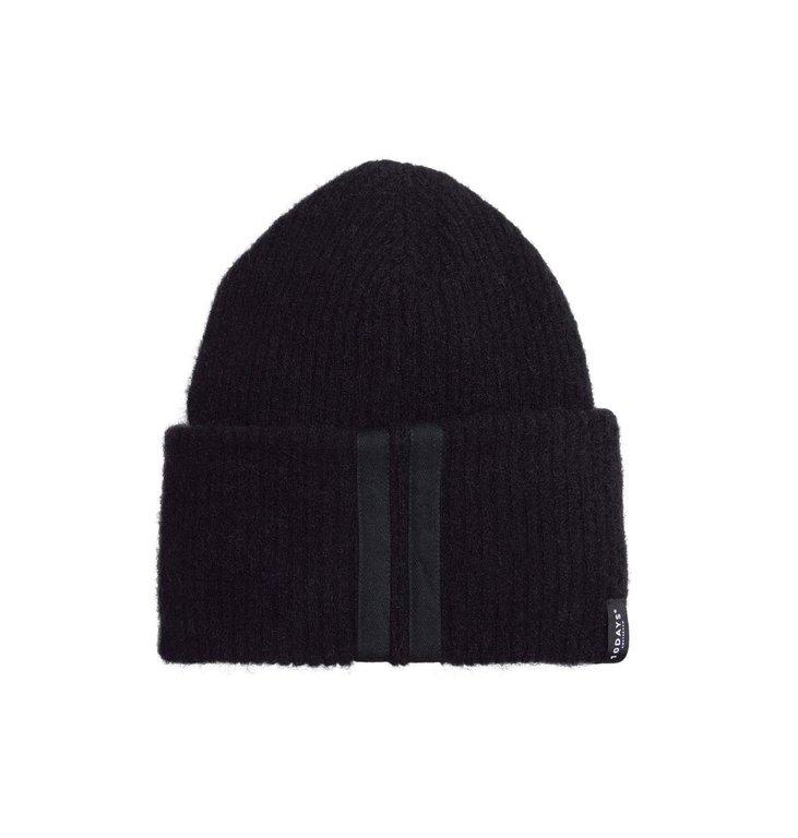 10Days 10Days Black Beanie Merino Wool 20.691.9103/9