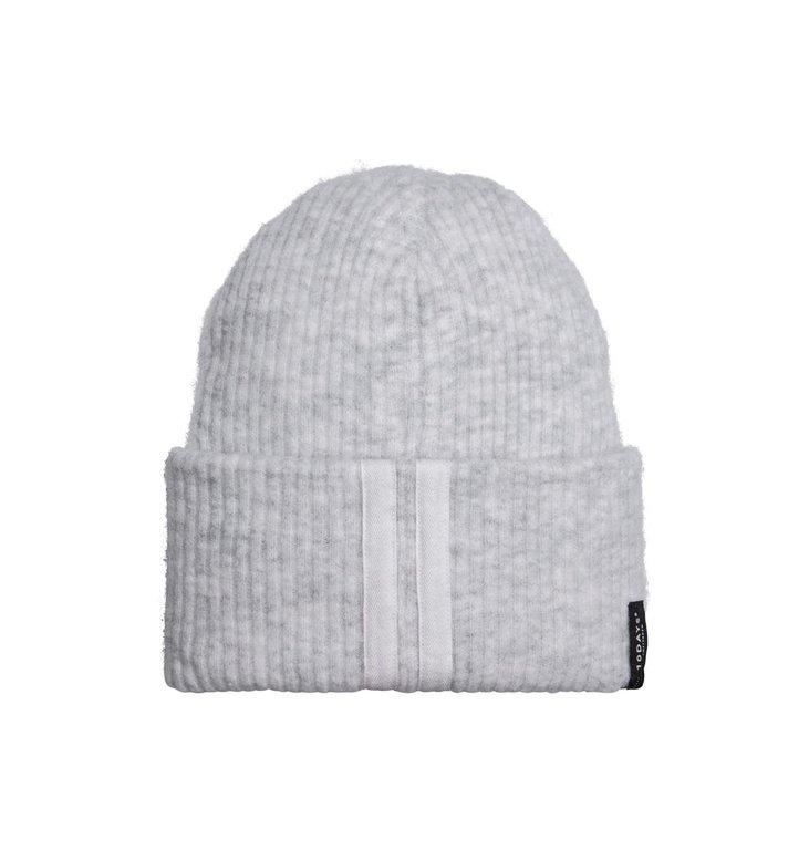 10Days 10Days Soft White Melee Beanie Merino Wool 20.691.9103/9