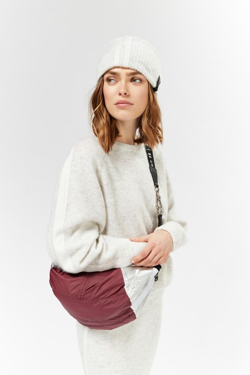 10Days Soft White Melee Beanie Merino Wool 20.691.9103/9