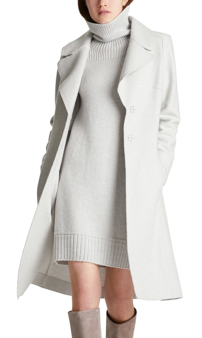 Marc Cain Grey Coat MC1118