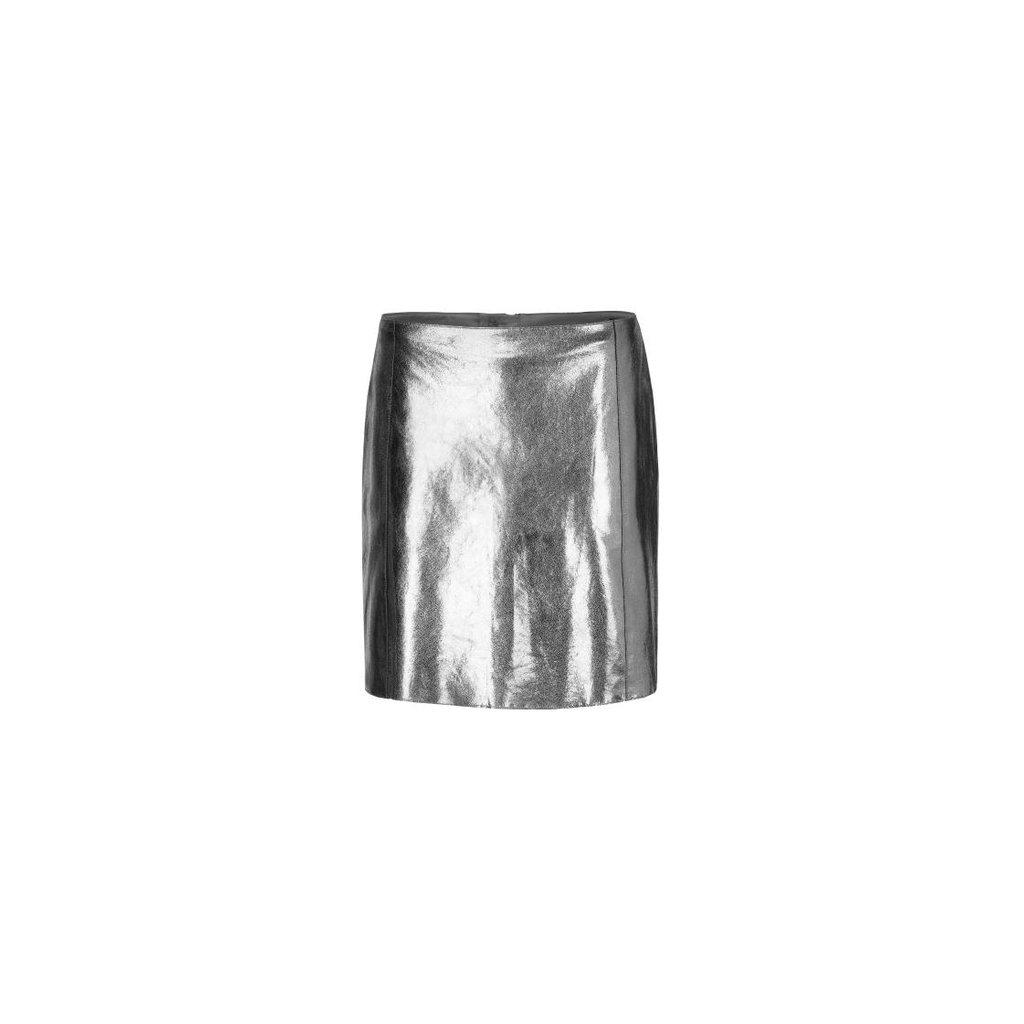 Marc Cain Silver Skirt MC7129