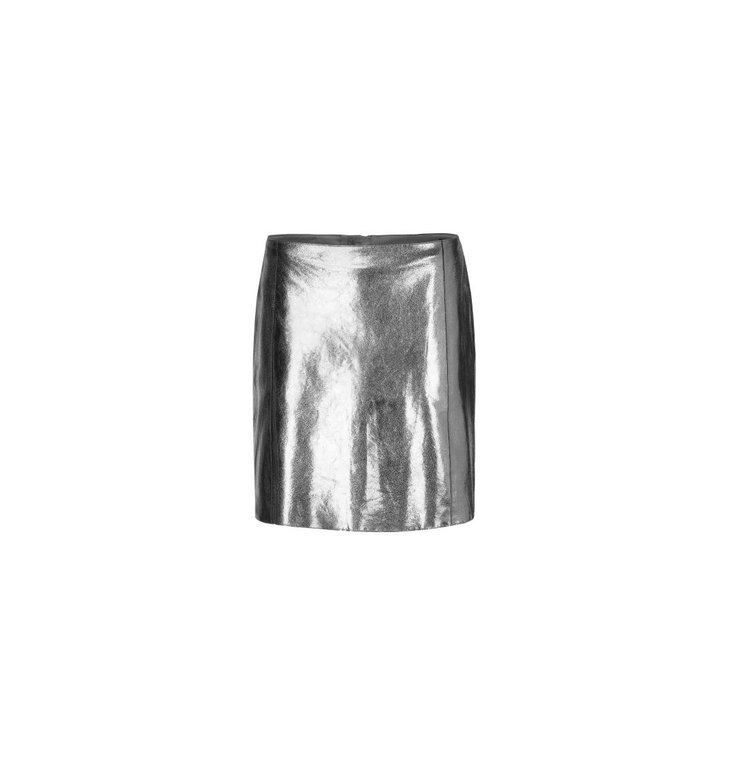 Marc Cain Marc Cain Silver Skirt MC7129