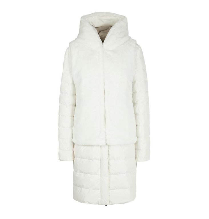 Marc Cain Marc Cain White Double Coat MC1112