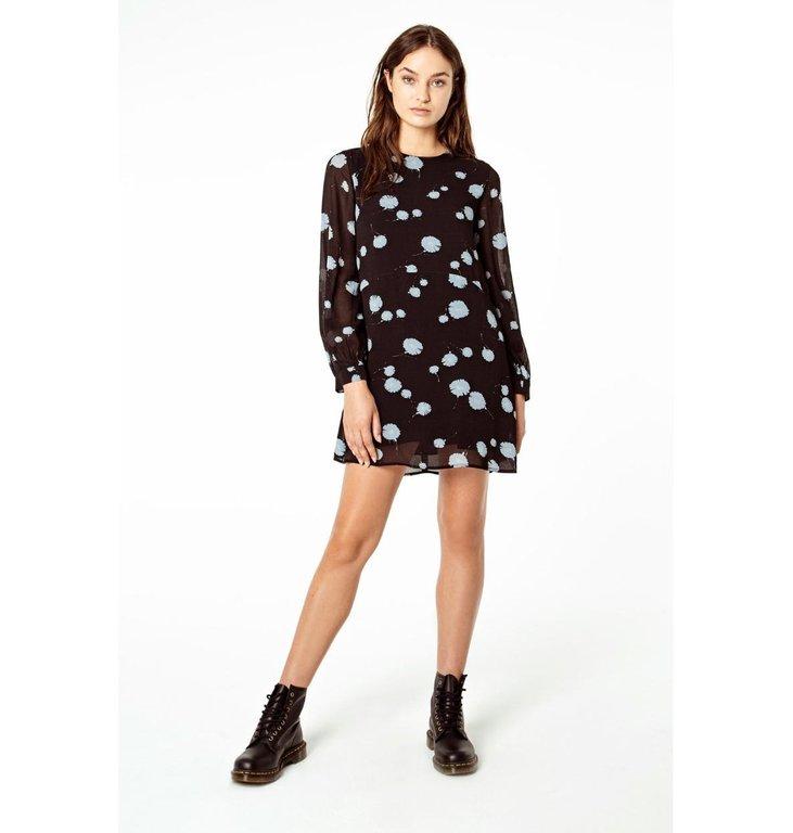 Denham Denham Black Dress Naka Hvg