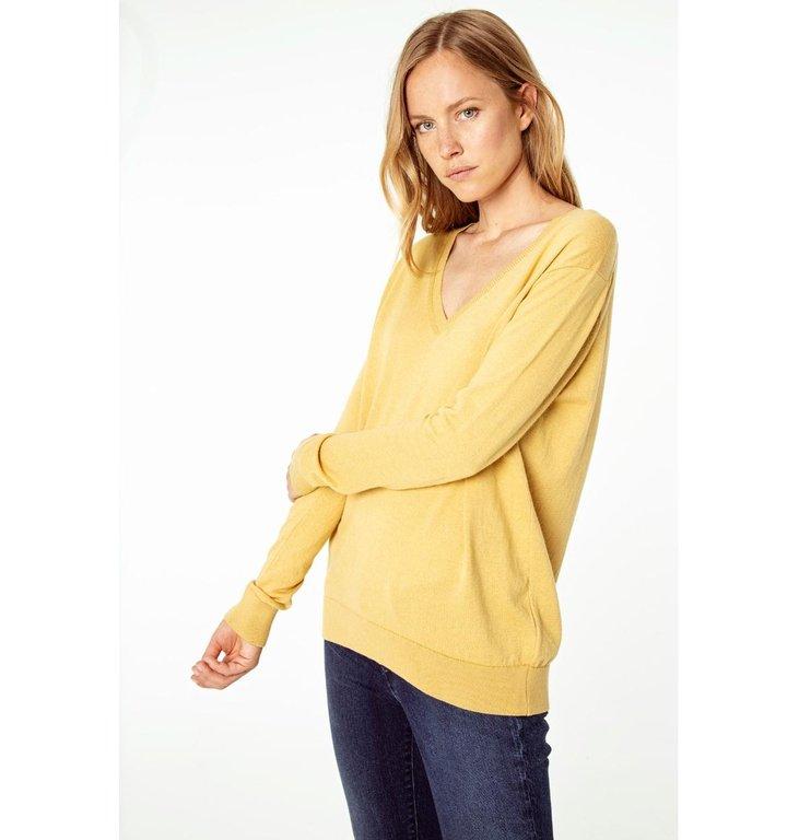 Denham Denham Yellow Knit Taylor V
