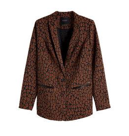 Maison Scotch Maison Scotch Leopard Blazer 152723