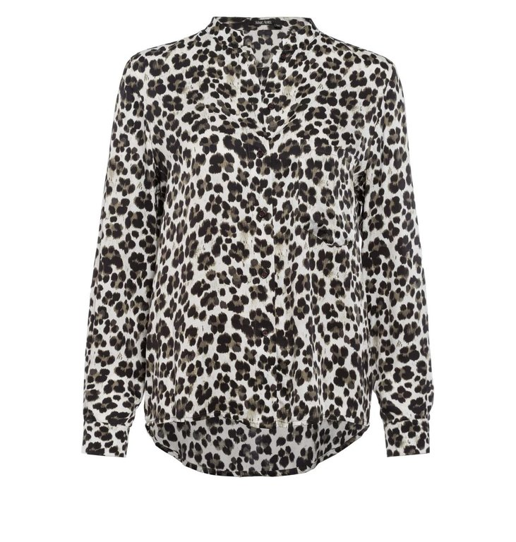 Marc Aurel Marc Aurel Leopard Blouse 6285