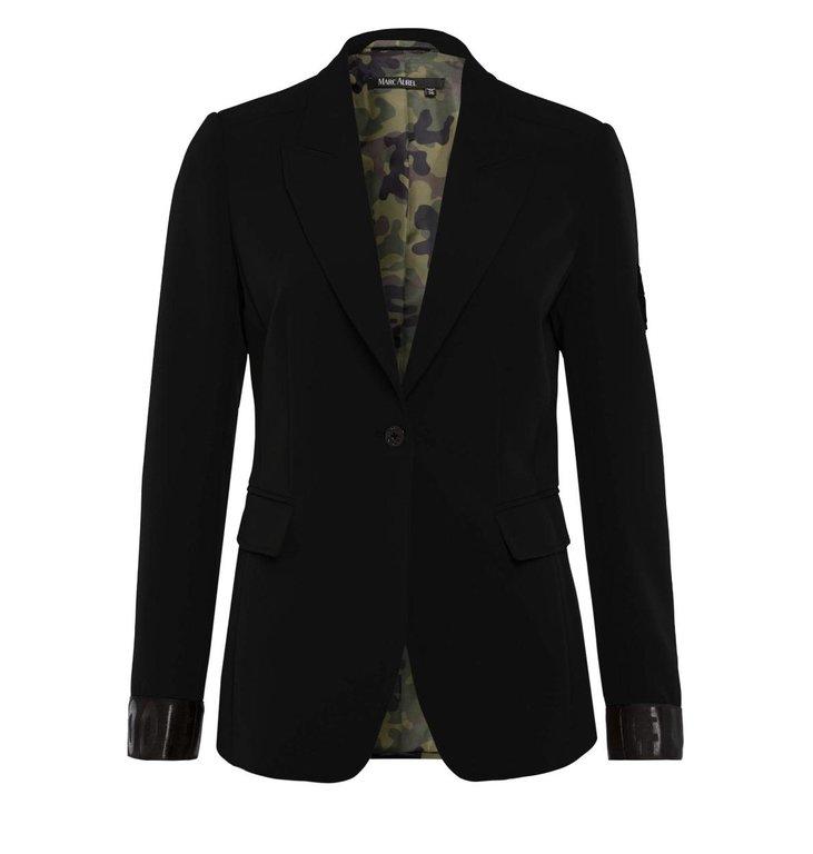 Marc Aurel Marc Aurel Black Blazer 3614
