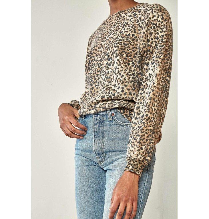 Ragdoll LA Ragdoll LA Leopard Oversized Sweatshirt S236