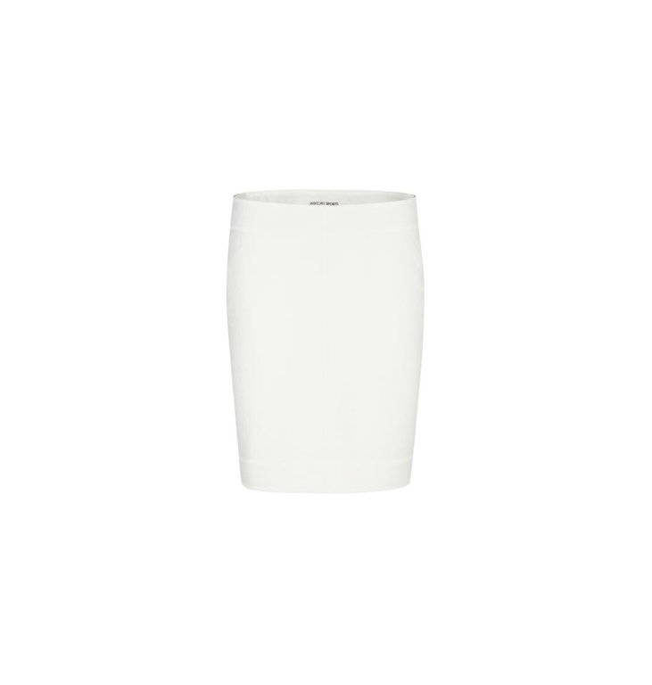 Marc Cain Marc Cain Off White Wool Skirt MS7129