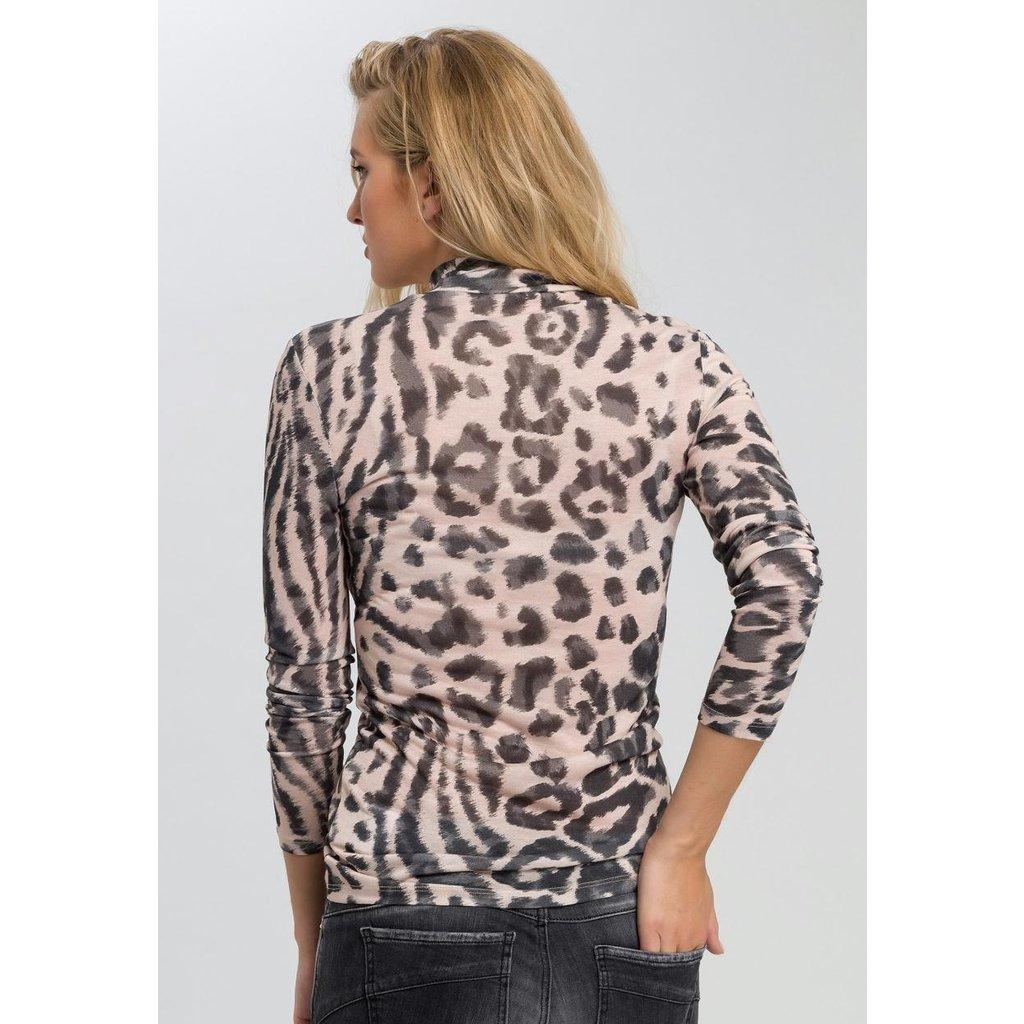 Marc Aurel Leopard Longsleeve 7895