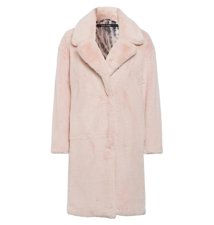 Marc Aurel Marc Aurel Pink Teddy Coat 5435