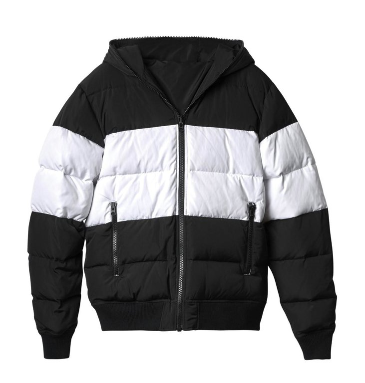 10Days 10Days Black Reversible Ski Jacket 20.572.9104