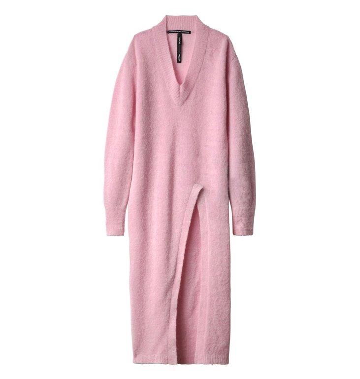 10Days 10Days Light Pink Light Pink High Split Sweater 20.606.9104