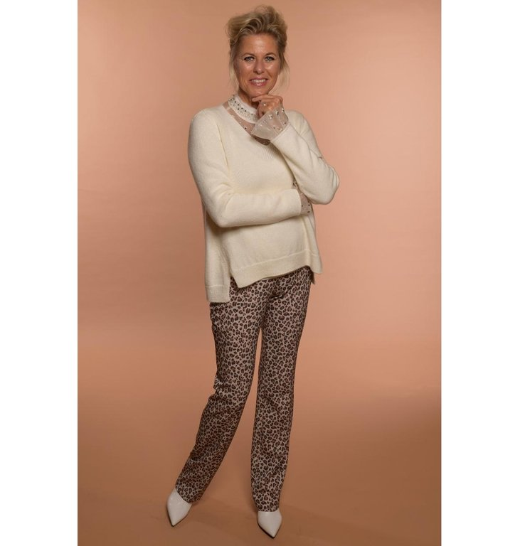 Marc Cain Marc Cain Off White Knit MC4162
