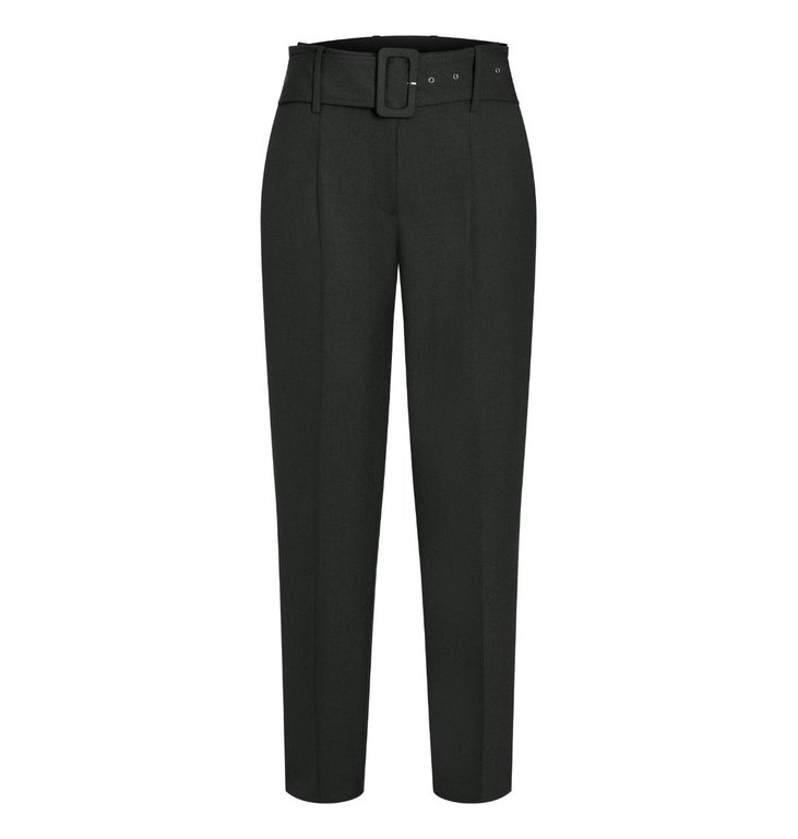 Cambio Cambio Black Kate Belt Trousers 6244