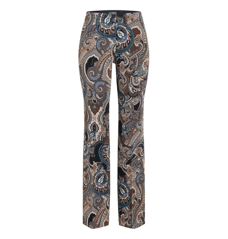 Cambio Cambio Brown Ros Flaired Trousers 6703