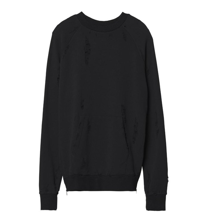 10Days 10Days Black Sweater Velvet Fleece 20.808.9103/9