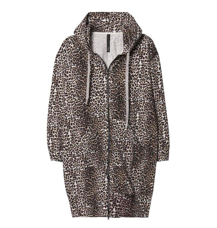10Days 10Days Leopard Hooded Cardigan 20.857.9103/9