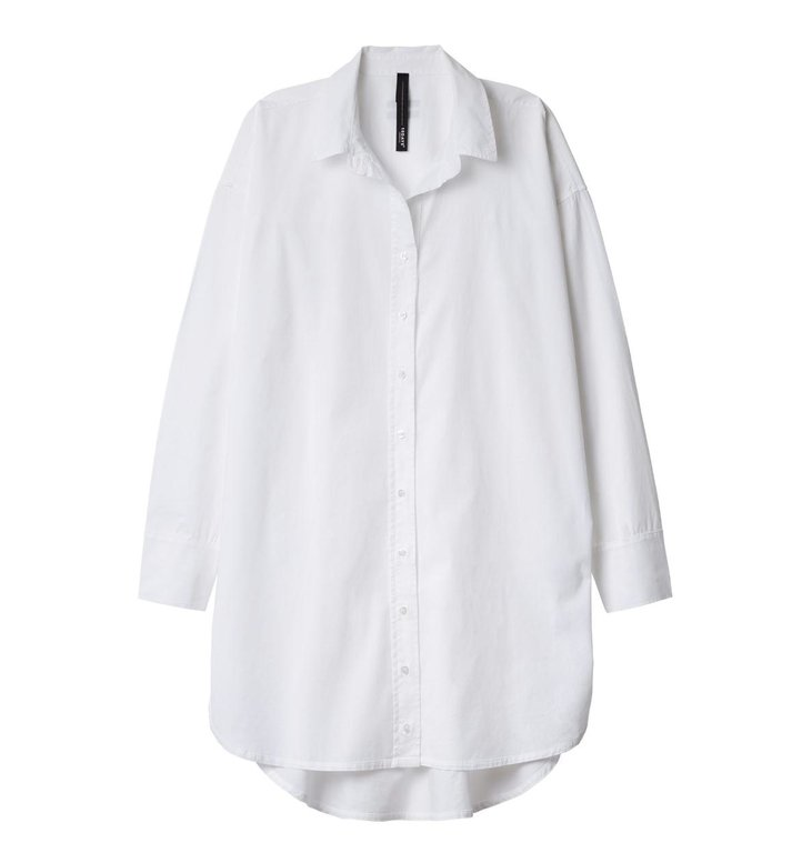 10Days 10Days White Shirt Dress 20.400.9104