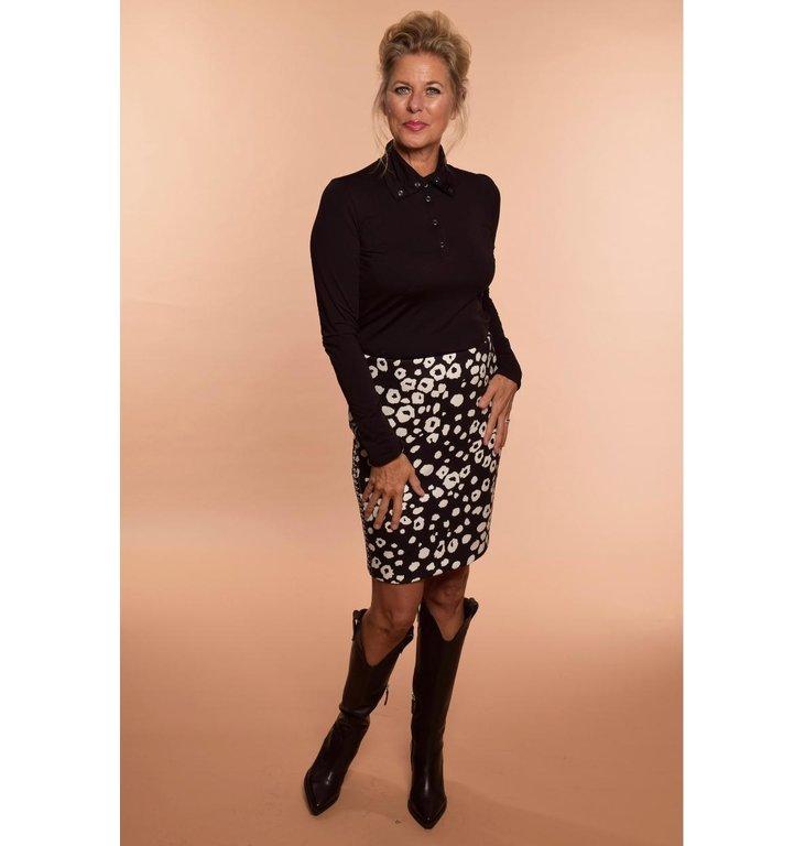 Marc Cain Marc Cain Leopard Skirt MC7161