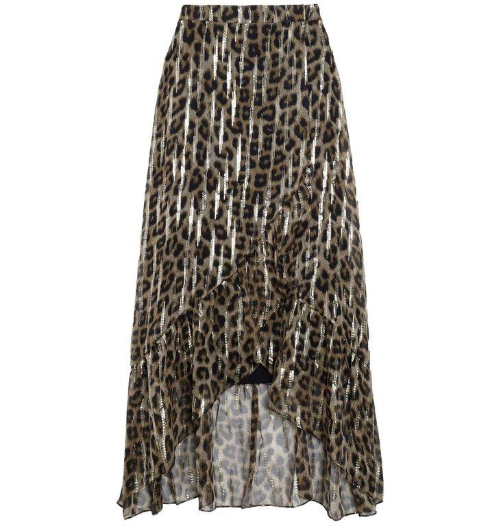 Ba&sh Ba&sh Leopard Skirt Jalvy