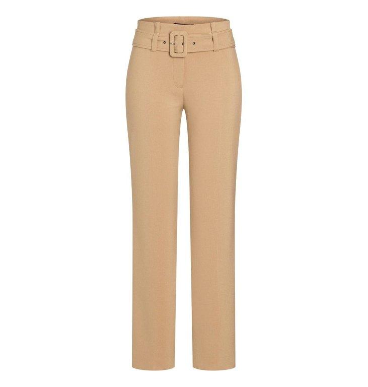 Cambio Cambio Camel Gloria Belt Trousers 6316