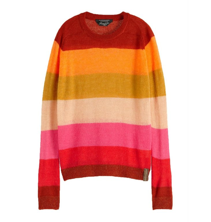 Maison Scotch Maison Scotch Multicolour Striped Pullover 153187